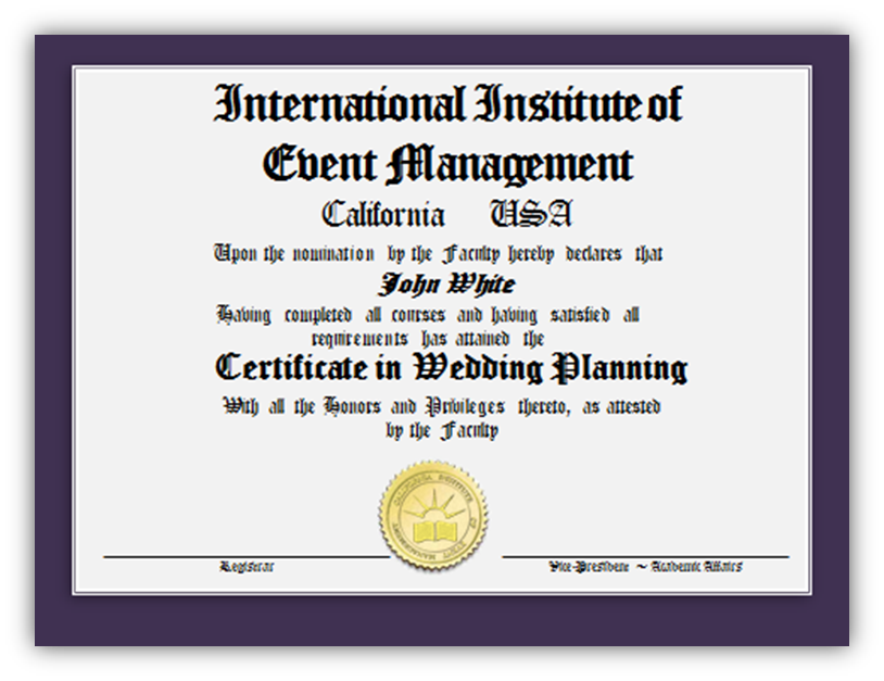 International Institute Of Event Management